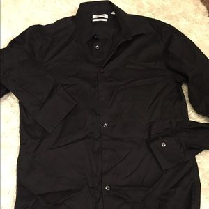 Calvin Klein Black Dress Shirt 15 34/35